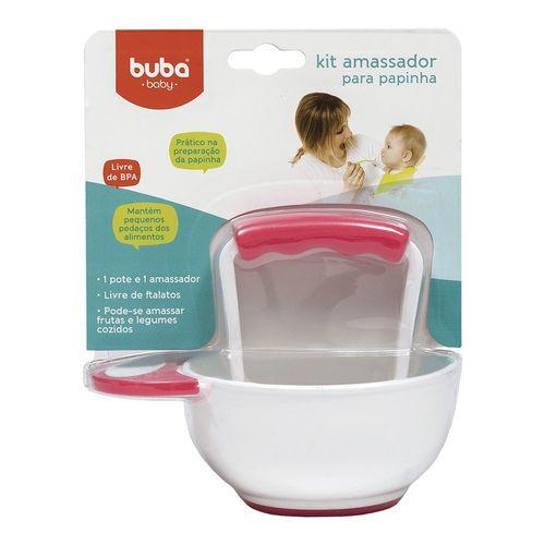 Kit Amassador De Papinha Rosa - Buba Baby
