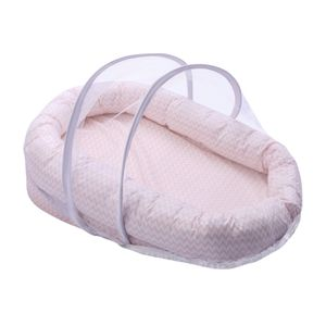 Ninho Antirrefluxo Papi Baby 79Cm X 50Cm X 18Cm, Papi Textil, Rosa
