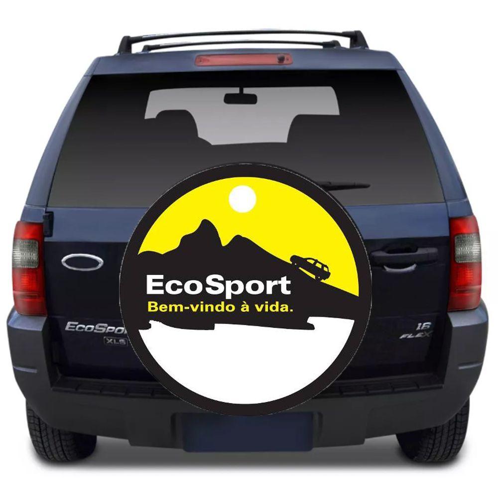 Capa Para Estepe Ecosport Flash Acessórios - Ca005