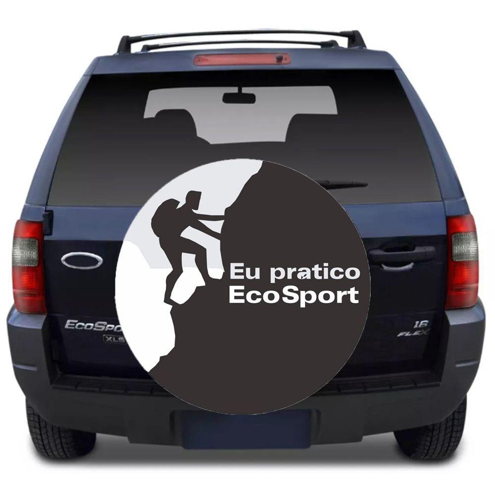Capa Para Estepe Ecosport Flash Acessórios - Ca006