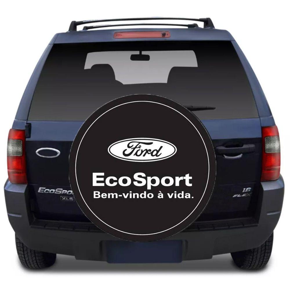 Capa Para Estepe Ecosport Flash Acessórios - Ca007