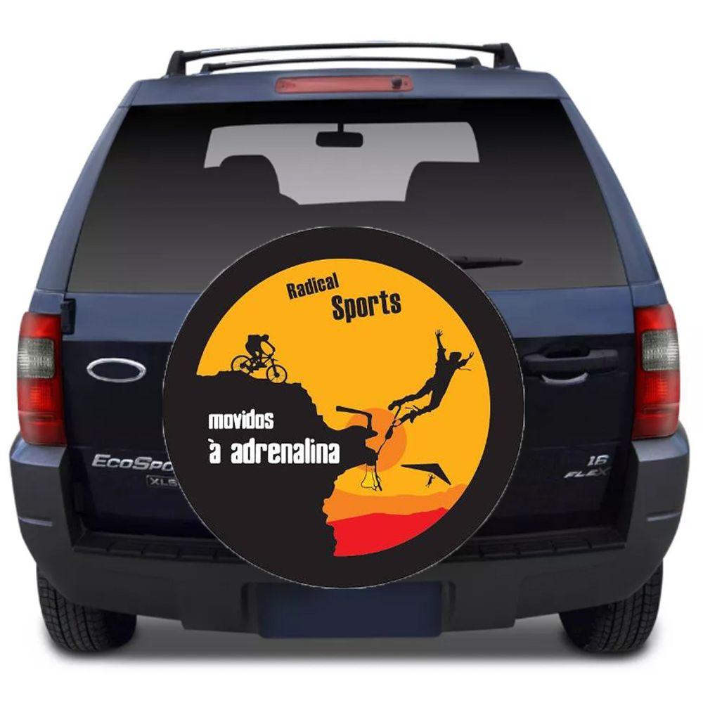 Capa Para Estepe Ecosport Flash Acessórios - Ca011