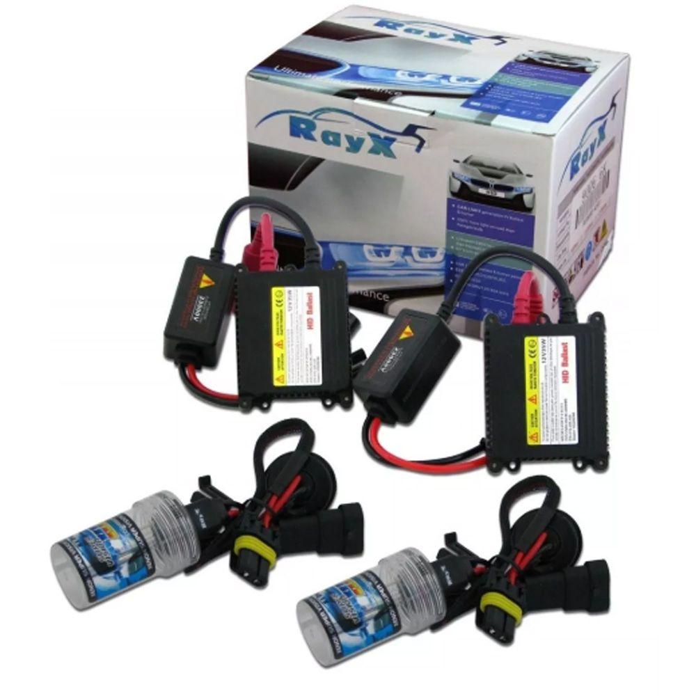 Kit Xenon Lampada H4-2 6000K Com reator 12V Ray