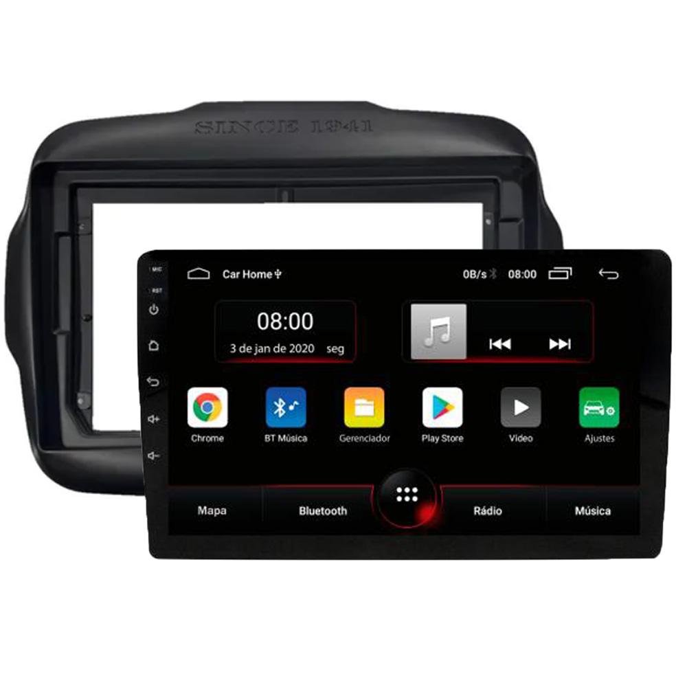 Multimídia Jeep Renegade PCD e Standard Twincan Tela de 9