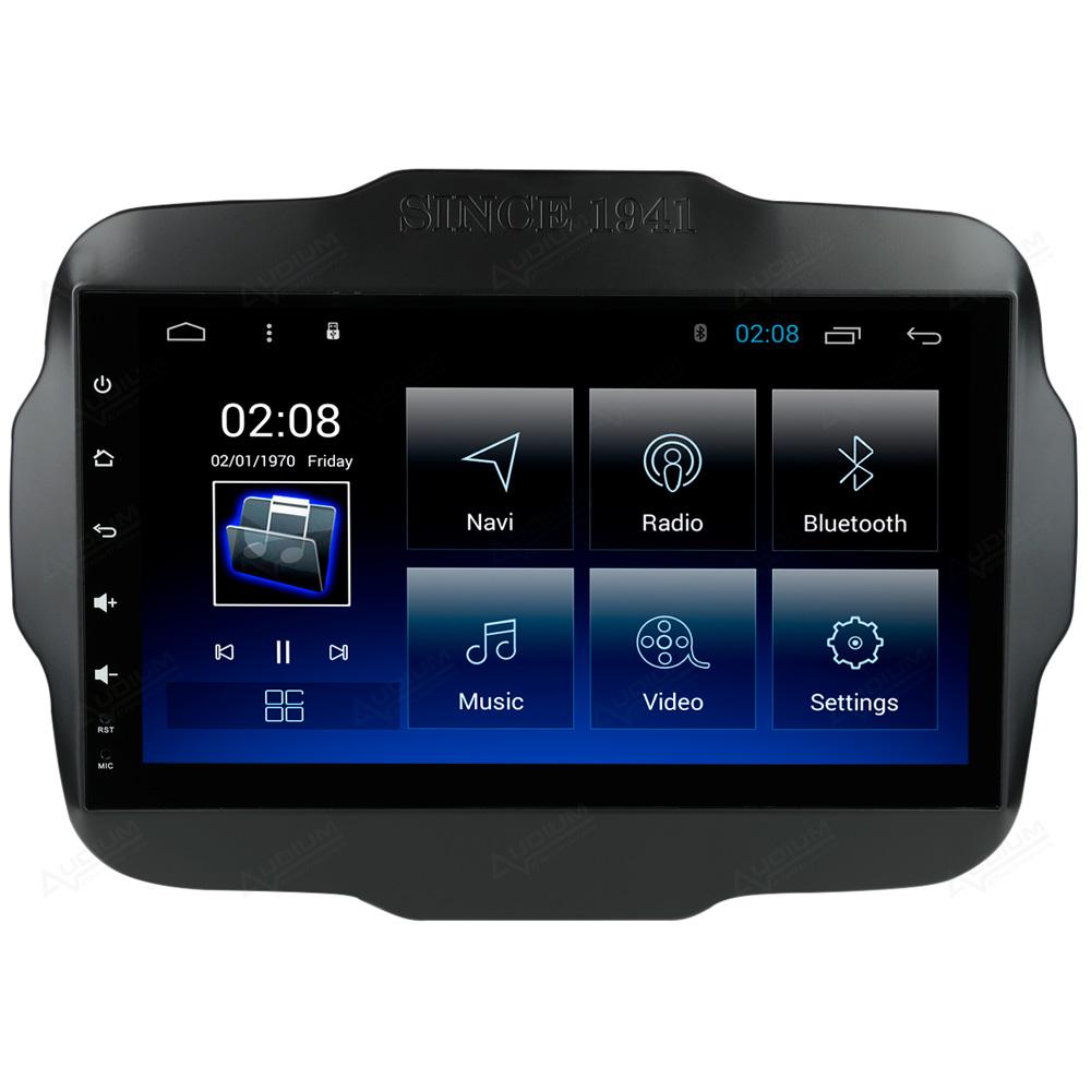 Multimídia Jeep Renegade PCD Tela de 9