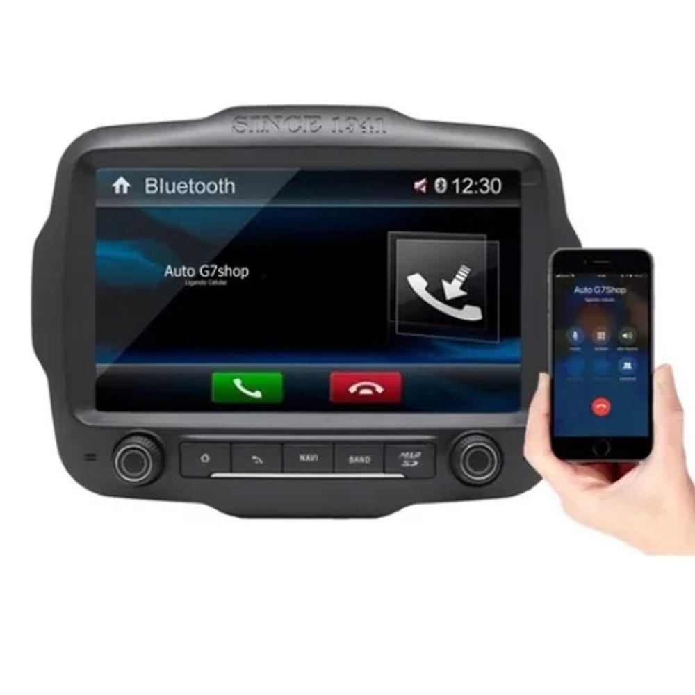 Multimídia Jeep Renegade (SPORT) Espelha iPhone Bluetooth Gps Wifi