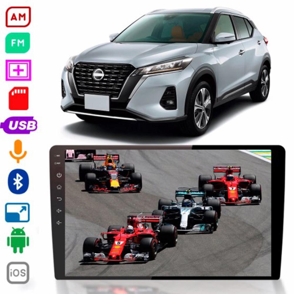 Multimídia Twincan Nissan Kicks  Tela de 9