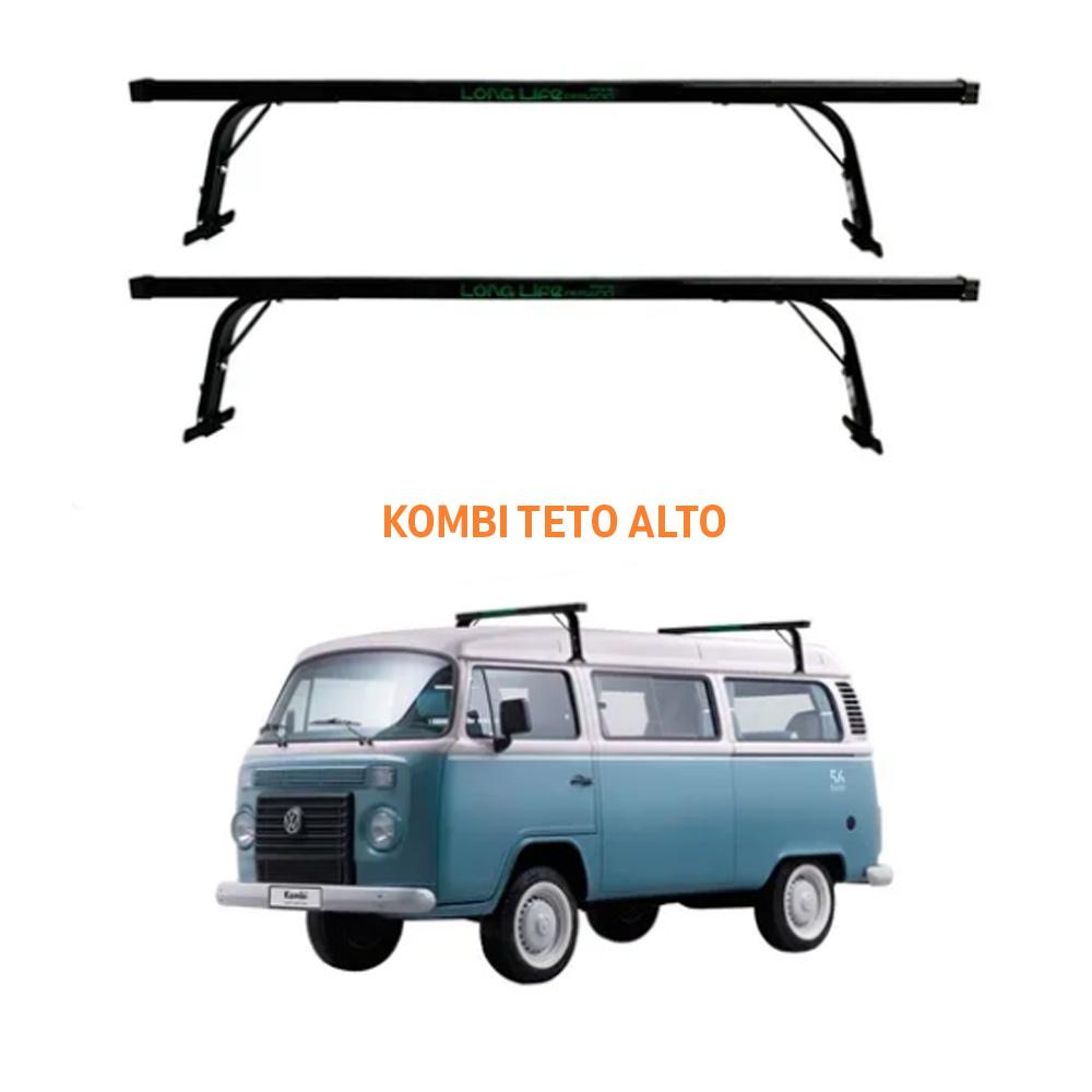Rack de Teto Kombi Teto Alto Pesado Suporta 80KG Long Life