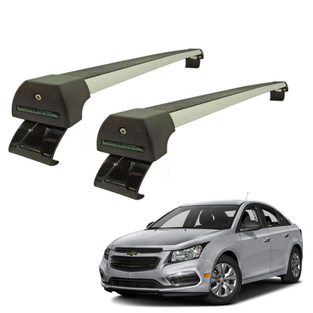Rack de Teto Travessa Chevrolet Cruze Hatch e Sedan a partir 2017 Alumínio Long Life