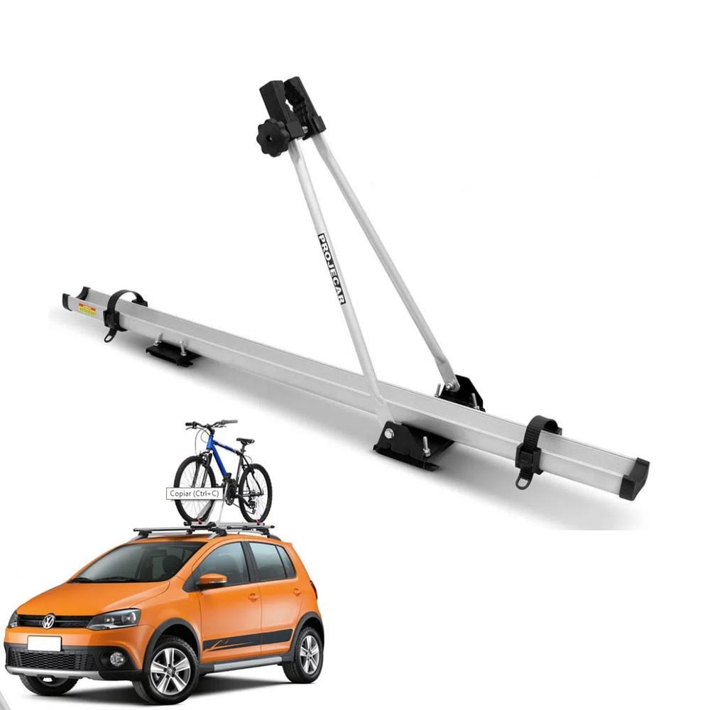 Suporte Para Bicicleta Transbike de teto Universal Prata Alumínio Projecar