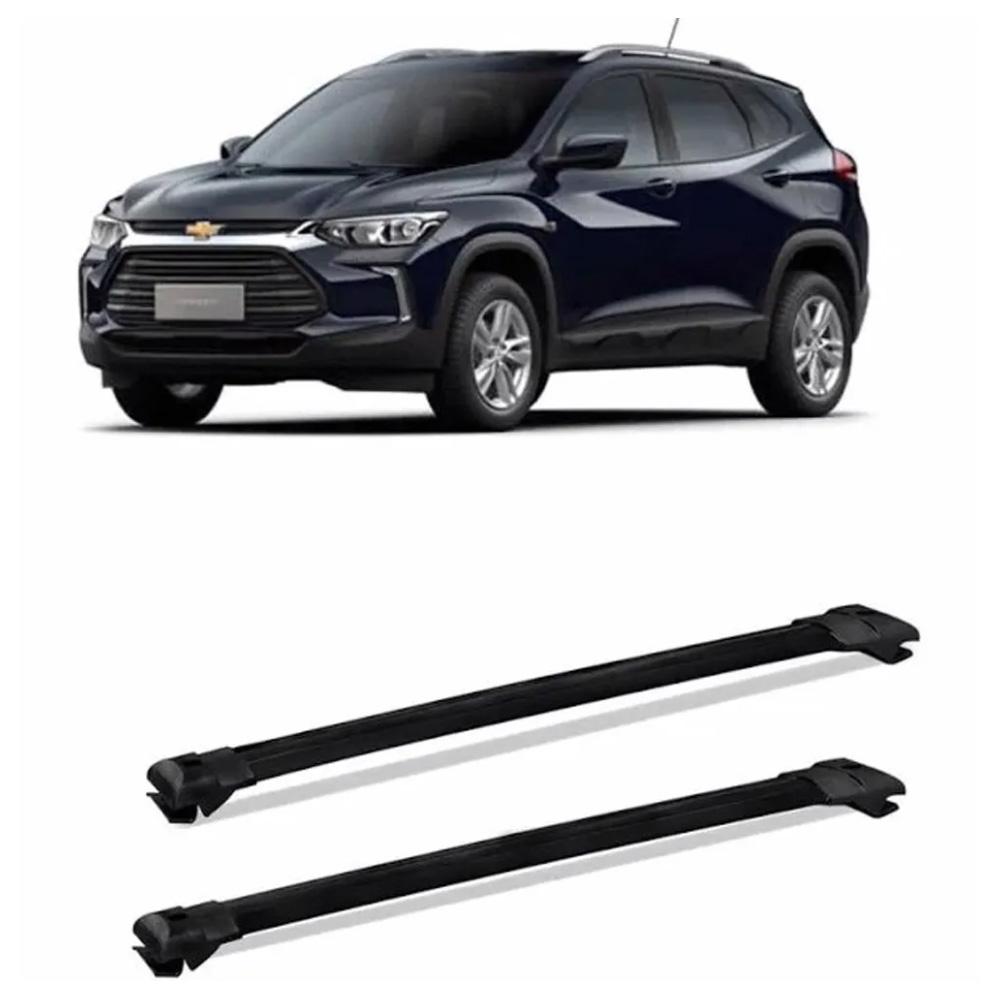Travessa de Teto Larga Chevrolet Tracker 2020 em diante Preta Suporta 45KG Projecar
