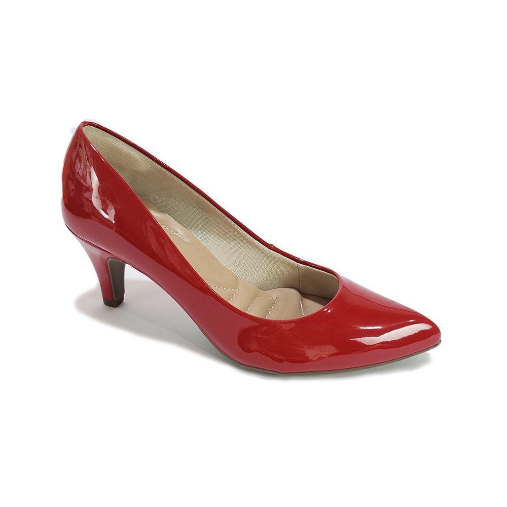 53b4f6eb0 Scarpin Disalt Verniz Vermelho - Disalt Calçados | Compre Moda ...
