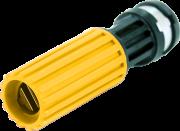 Esguicho Bico Regulavel Lava Jato Auto 1/2 Saída 2,9mm Amarelo Hidraflux