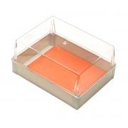 Caixa Plástica Transparente 350X260X170mm Dobra schuhmacher