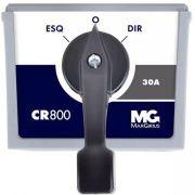 Chave Reversora Margirius 30a Cr-830 Monofásica Trifásica C/ Retorno ao Zero