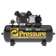 Compressor De Ar Pressure Onix Press 15 Pés 175lt 140psi 3cv