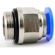 Conexão Engate Rápido Rosca Macho 1/4 X Mangueira 6mm