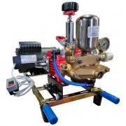 Lavadora de Alta Pressão Bomba 3 Pistão Motor 3CV Mono 45 Litros Base Kawashima Mangueira 20M