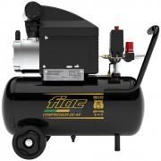 Moto Compressor De Ar Pressure 1,5cv 8,2 Pés 24 Litros - Fiac 110V
