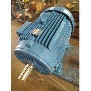 Motor Elétrico Weg 40 Cv 4 Polos 1750 Rpm Usado Tensões  220/380/440/760V Baixa Rotação