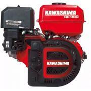 Motor Estacionário 9hp 4t Gasolina 277cc Ge900 Kawashima