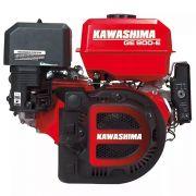 Motor Estacionário 9hp Partida Elétrica 4t Ge900e Kawashima