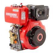 Motor Estacionario Diesel 10hp Partida Elétrica De1000-e Kawashima