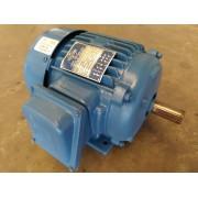 Motor kohlbach Trifásico 3CV 4 Polos 1740Rpm Blindado 220V 380V Usado