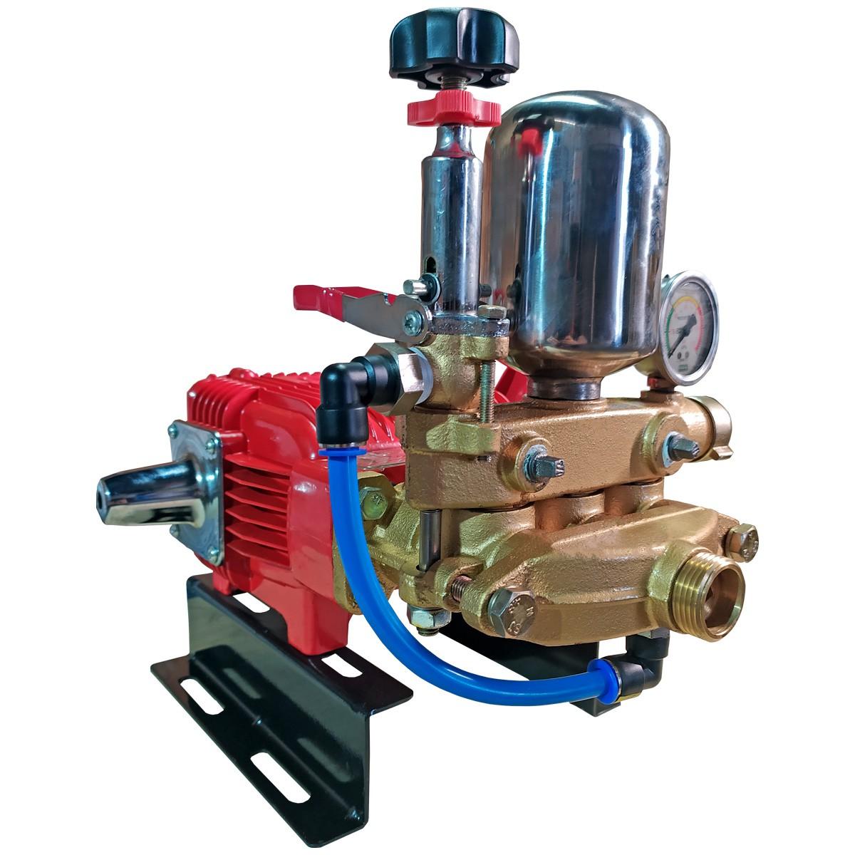 Bomba Lavadora Profissional Alta Pressão Motor Monofásico 22L Carrinho 10m