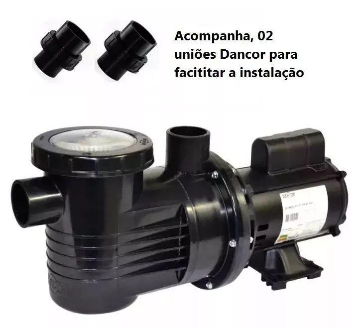Bomba Para Piscina 1/2 Cv Monofásica 110/220v Pf-17 Dancor