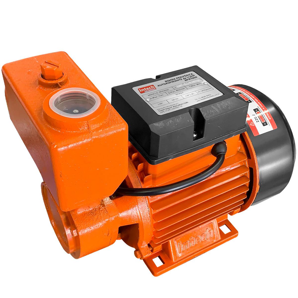 Bomba Periférica Autoaspirante 1cv Intech Machine (BIVOLT)