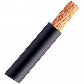 Cabo De Solda 35mm Extra Flexível 100 Volts Sil Preto - 30 Metros