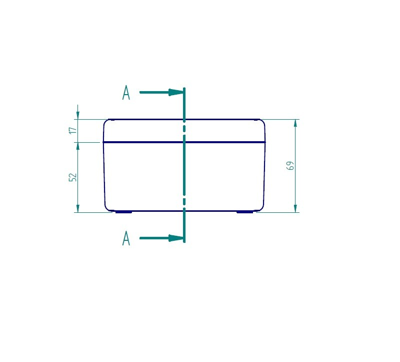Caixa Plástica 120x90X70mm Cinza - Ip65 Schuhmacher