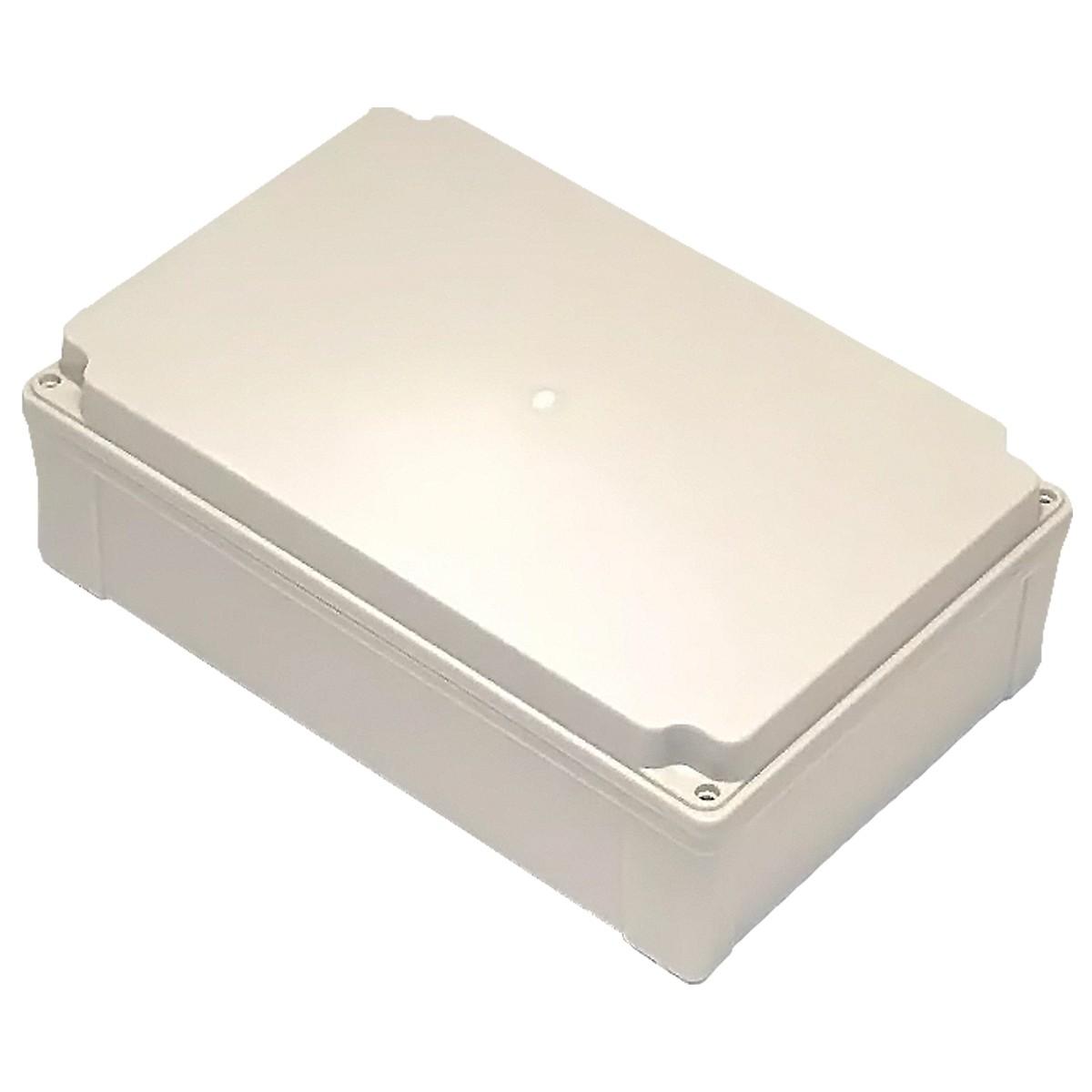 Caixa Plástica Pvc 350X260X130mm Com Fecho E Dobradiça