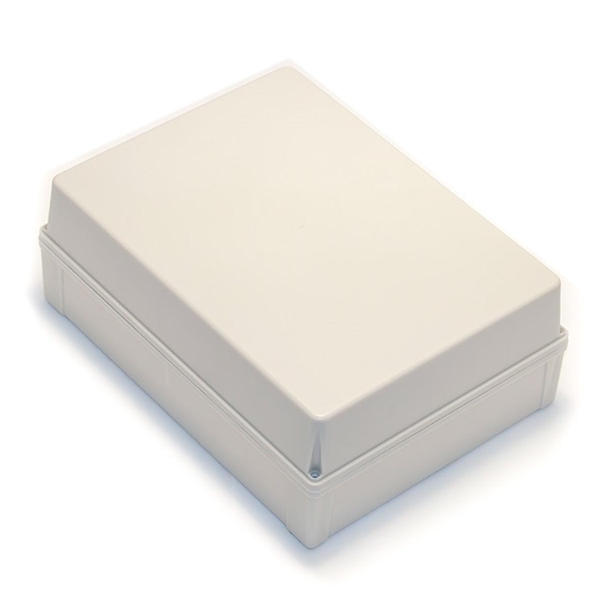 Caixa Plástica Pvc 350X260X130mm Com Fechamento por Parafusos