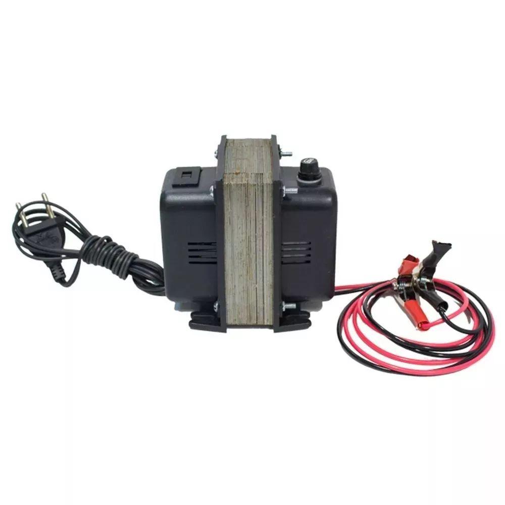 Carregador De Bateria 6a 12v Biv Automotivo Carro E Moto
