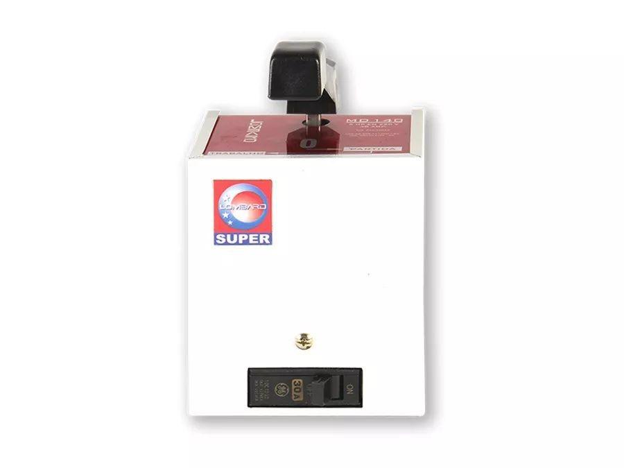 Chave Monofásica Com Proteção 7,5hp 40a 220v Md 150 Lombard