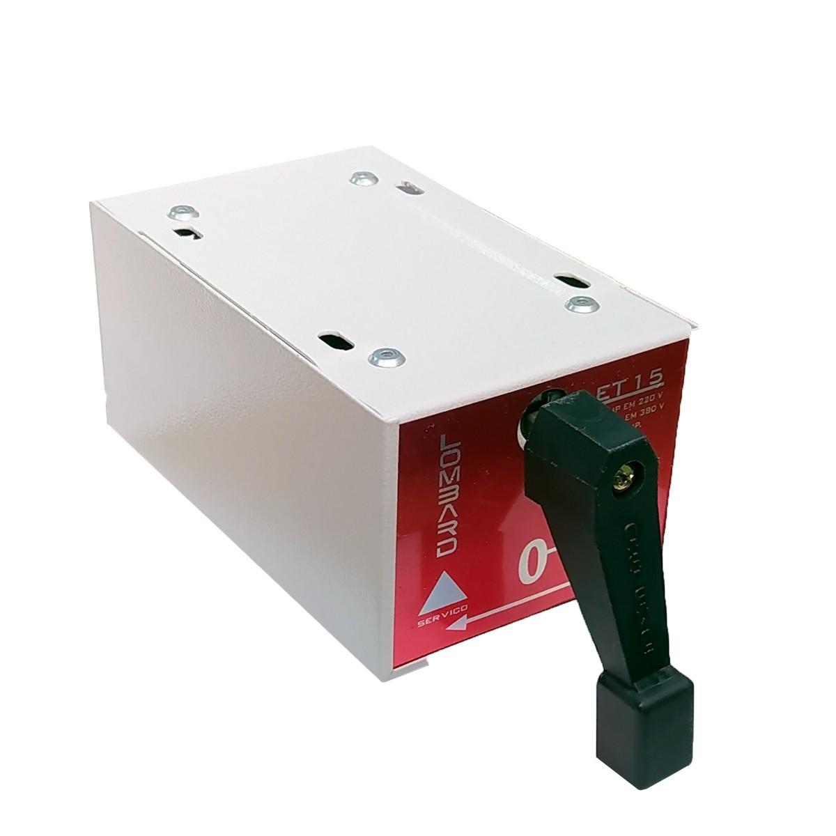 Chave Monofásica Série Paralela 12,5 Hp cV 220V Msp-125 Lombard