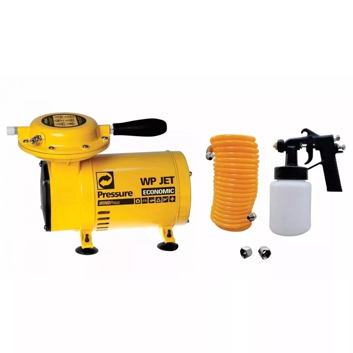Compressor Ar Direto Pressure Com Kit Pintura Bivolt