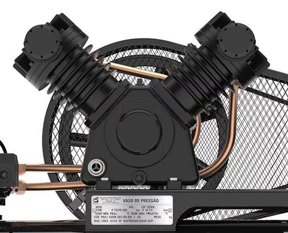 Compressor De Ar Pressure Onix Press 15 Pés 175lt 140psi 3cv