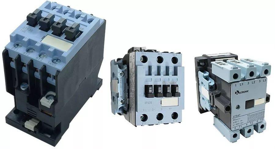 Contator Altronic 3ts29 (3tf40) 220vca 6 Amperes 1na Tripolar