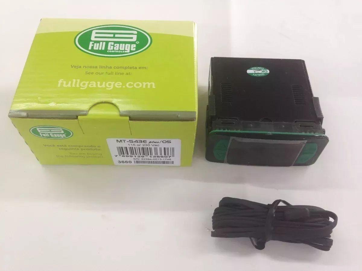 Controlador Temperatura Alarme/timer Full Gauge Mt-543e Plus