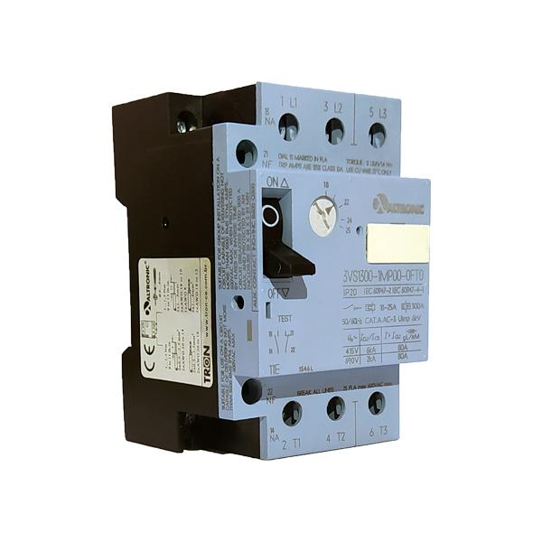 Disjuntor Motor 3VS13 de 2.40 a 4.00A 3VS13 00-1MJ00 Altronic
