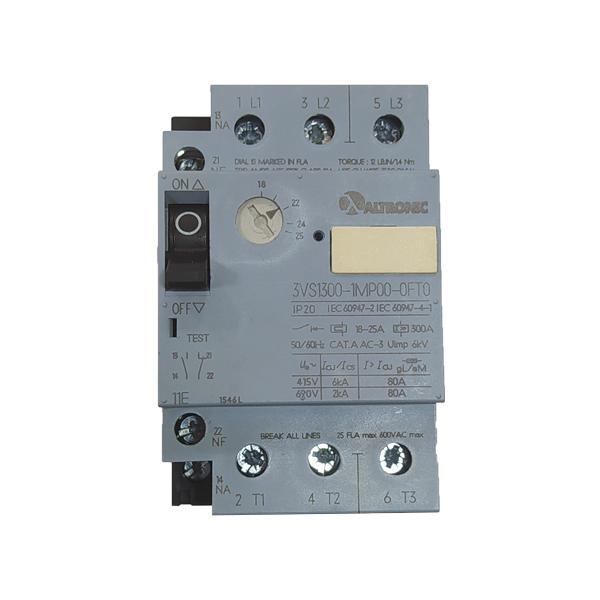 Disjuntor Motor 3VS13 de 4.00 a 6.00A 3VS13 00-1MK00 Altronic