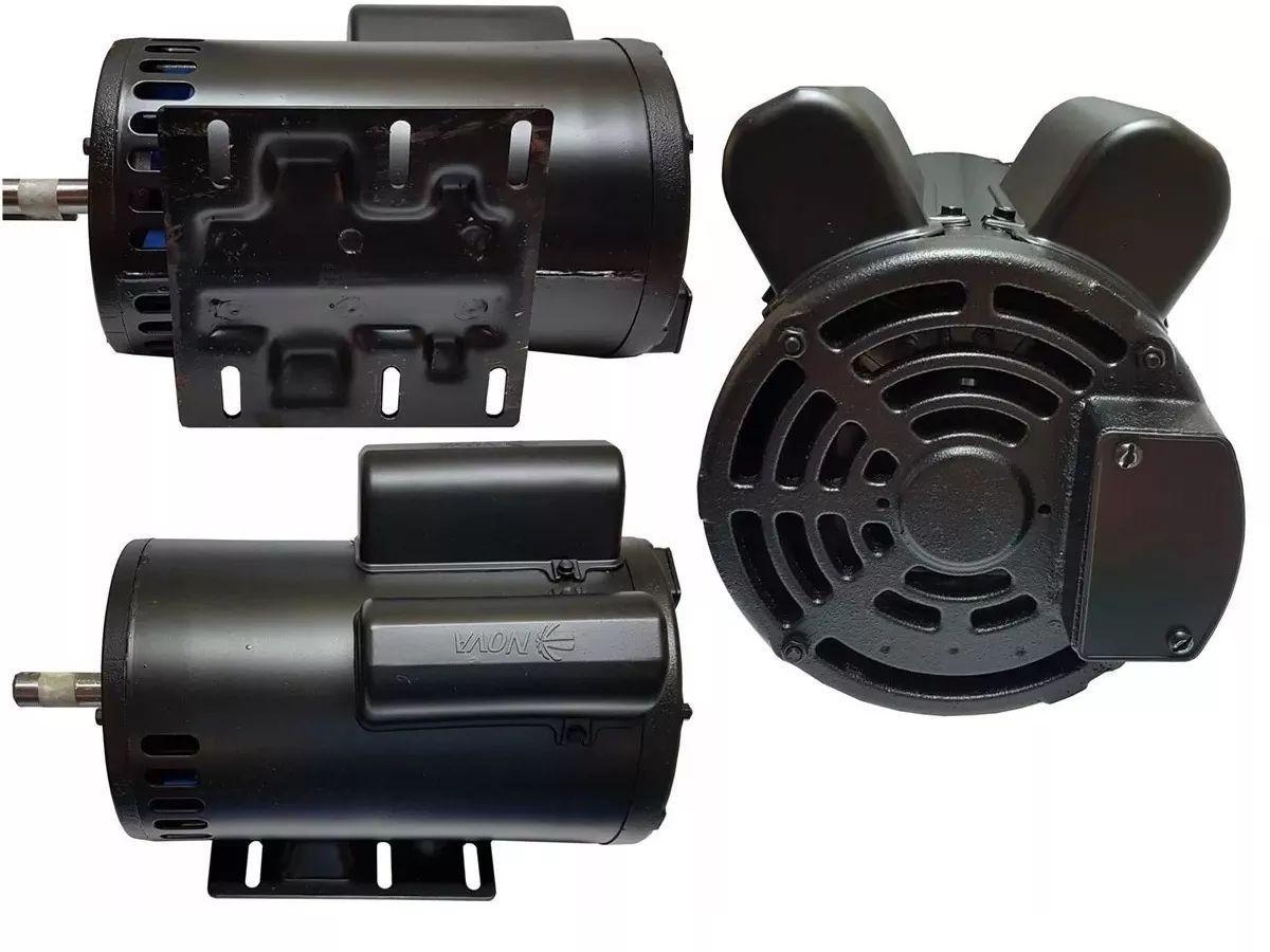 Engenho De Cana B120 Baixo Moenda Ferro C/ Motor e Chave Reversível 220V