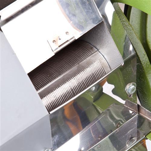 Engenho De Cana B120 Baixo Moenda Inox C/ Motor  e Chave Reversível 220V