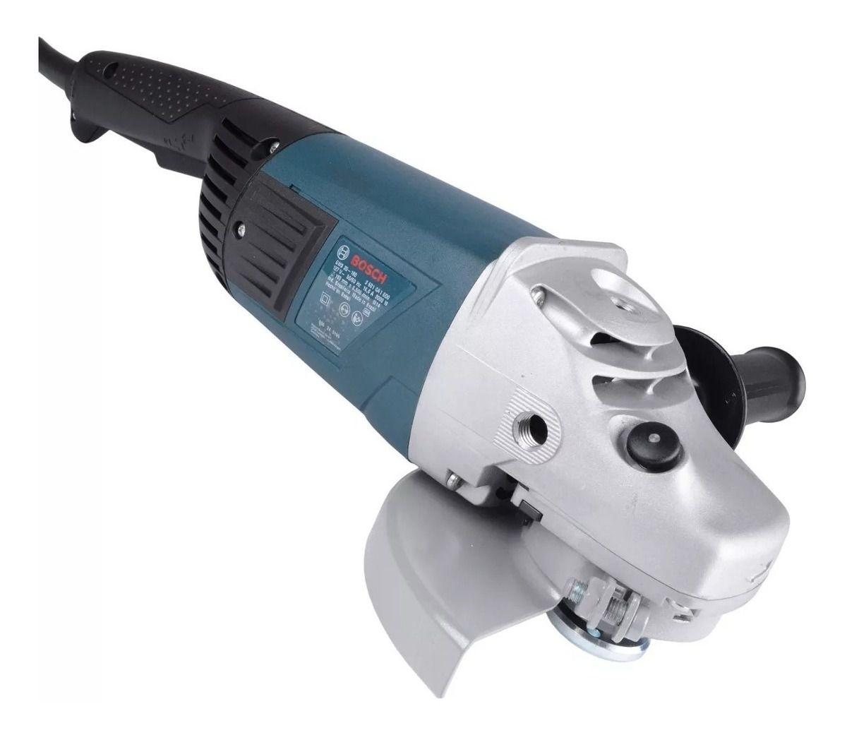 Esmerilhadeira Angular 180mm 7 Pol 2000W - BOSCH-GWS 20-180 127/220v