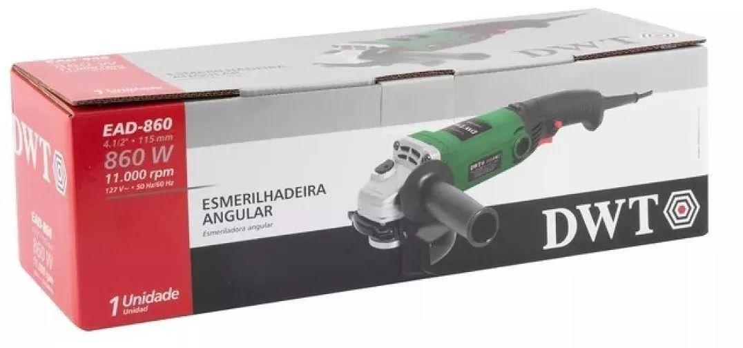 Esmerilhadeira Angular 4.1/2 - 860w Dwt Ead-860
