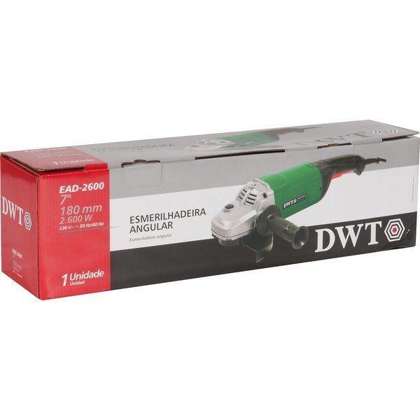 Esmerilhadeira Angular 7 2600w - Dwt 220v EAD-2600