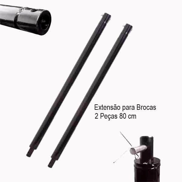 Extensor Para Perfuradores De Solo De 80cm Kawashima
